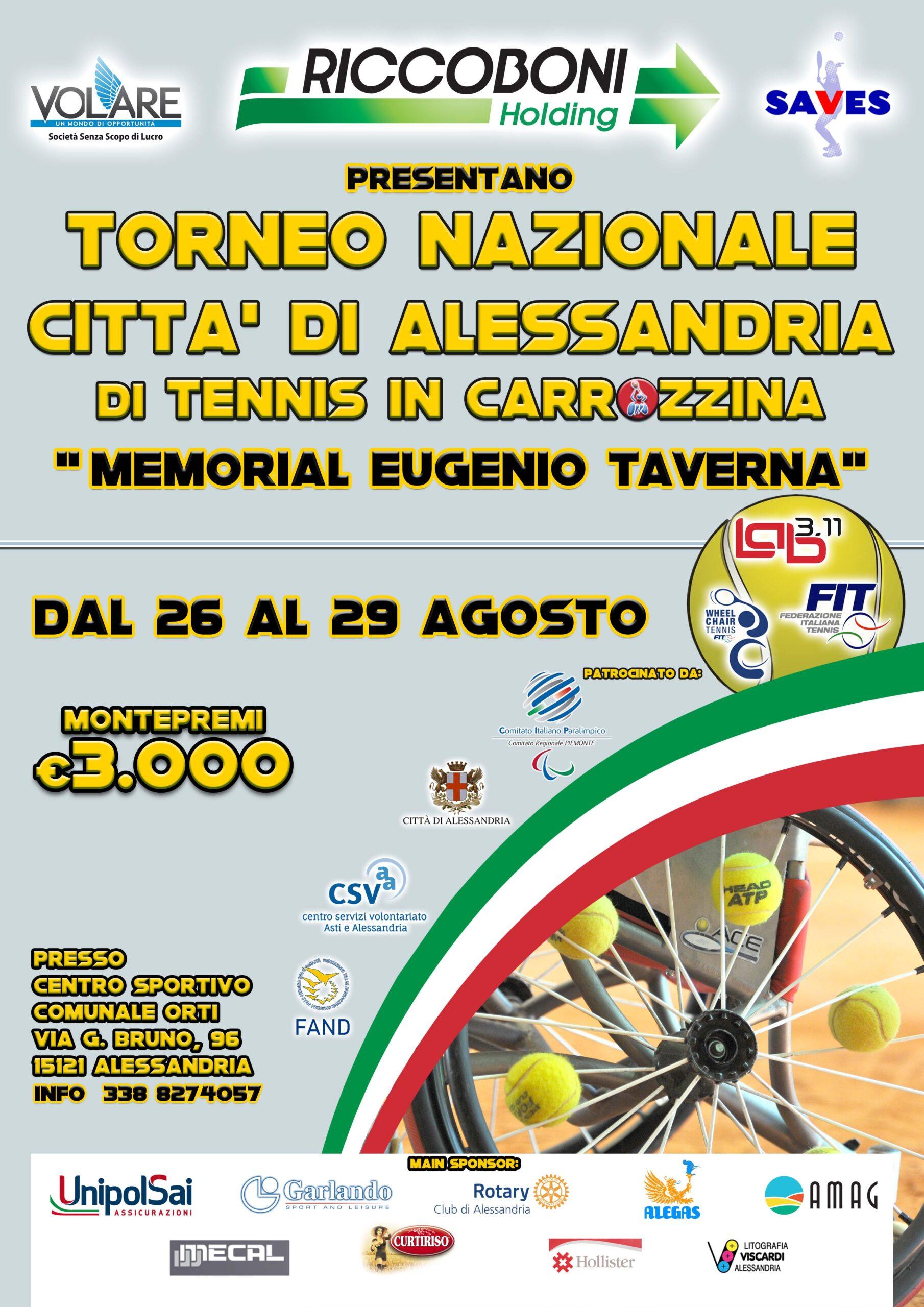 torneo naz città di Alessandria 2021